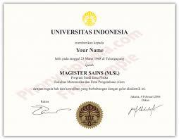 Indonesia From - com Diploma Phonydiploma University Fake