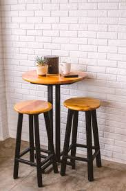 roundr table and stools starrkingschool pub tables with nesting height triangle breakfast