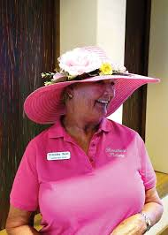 Priscilla Wolf, most colorful hat – SaddleBrooke Ranch Roundup