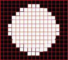 List of tools to create different types of graph papers including, pixel drawing grids, multipurpose tracing graph papers, geometric shape graph papers with different line thickness and more. Draw Circle Using Pixels Applied In An Image With For Loop Stack Overflow