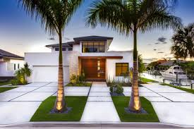 ideas modern front yard landscaping with concrete walkway homecm ...
