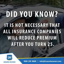 at age 25 your insurance rates will not suddenly drop get a free quote today