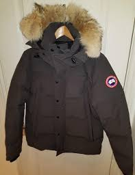 grey canada goose wyndham parka coyote fur trim