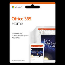 Offi 365 Ms Office 365 Home Subscription Esd