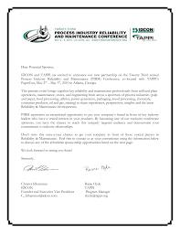 Company Sponsorship Letter Sample Sponsorship Letter Gplusnick 18