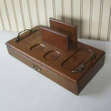 mens valet box. Brilliant Valet Mens Valet Box Vintage Wooden Butler With Drawer Retro Mid Century  Catch All With S