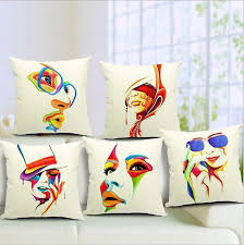 Simple Fabric Painting Designs For Pillow Covers