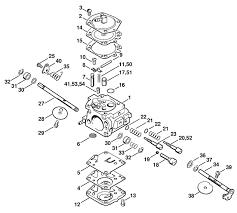 Stihl 012 av parts diagram carburetor part breakdown good rh dzmm info
