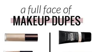 best ideas for makeup tutorials a face full of makeup dupes high end vs makeup can you believe the flashmode worldwide usa s leading