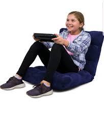 new unused birdrock home adjule memory foam floor gaming chair
