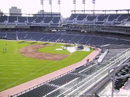 Comerica Park View From Upper Box Left Field 341 Vivid Seats