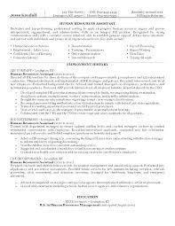 Hr Resume Objective Mesmerizing Resume Objectives Examples For Administration Also Admin Resume