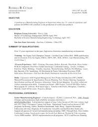 Not How To Write Your First Paper Edward F Hughes Senior Amazing Manufacturing Engineer Resume
