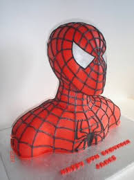 Spider Man Bust Birthday Cake Geeky Cake Of The Week