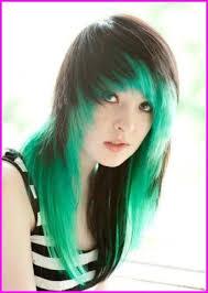 emo hair styles for s short