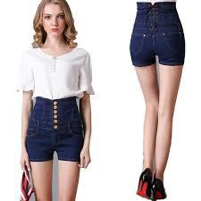 Women S Plus Size Measurement Chart Womens Plus Size Shorts High Waisted Denim High Rise