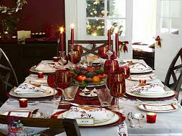 Christmas Ideas For Dining Room Tables