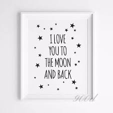 Love Quote Canvas Art Print Painting Poster Wall Pictures For Child Enchanting Love Quote Canvas