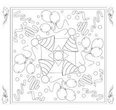 Kleurplaat Mandala Feest Kleurplaat Voor Kinderen