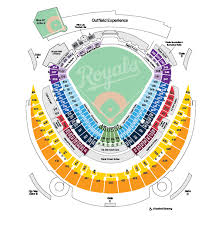 Kauffman Stadium Seat Map Map 2018