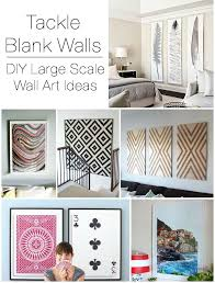 diy large scale wall art ideas on diy wall decor ideas for dining room with decorating large walls large scale wall art ideas diy ideas