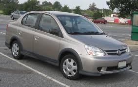File:03-05 Toyota Echo sedan.jpg - Wikimedia Commons