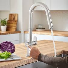 Touch kitchen faucets Ashton Beale Measurefill Pulldown Kitchen Faucet American Standard Beale Measurefill Touch Kitchen Faucet American Standard