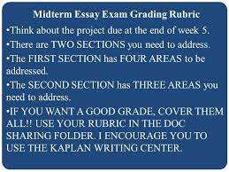 welcome cj organized crime welcome thank you for attending our midterm essay exam grading rubric think about the project due at the end of week 5