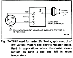 three wire thermostat 3 wire thermostat wiring diagram how to wire a Thermostat Wiring Color Code at Capillary Thermostat Wiring Diagram