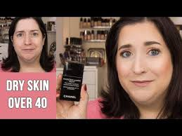 Chanel Perfection Lumiere Velvet Foundation Dry Skin