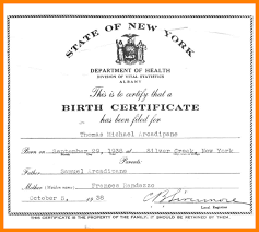 10 Birth Certificate Examples Emt Resume