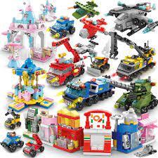Bộ Đồ Chơi Lego Xếp Hình 6 Trong 1 Cho Bé