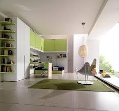 Bedroom  Immaculate Contemporary Kids Green Bedroom Custom Green - Custom bedroom cabinets