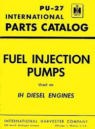 Bosch Fuel Pump Chart International American Bosch Fuel Injection Pump Type A B K Q R Parts Manual Ih Ebay
