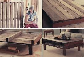 easy to make furniture ideas. Exellent Easy 2 DIY Rustic Pallet Coffee Table For Easy To Make Furniture Ideas