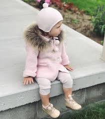 Luxurious Racoon fur trim Knitted Cardigan in Dusty Pink