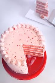 Triple Real Strawberry Cake Karas Couture Cakes