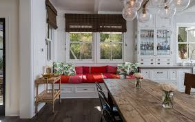 ... Bench Design, Kitchen Bench Seats Kitchen Bench With Back Red Bench And  Wood Dining Table ...