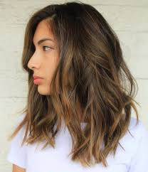 Medium Length Hair Color Shoulder Length Hair Highlight Women Hair Libs