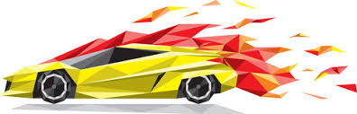 car with flames clipart. Brilliant Flames Speed Car Yellow Sport Car With Flames Isolated On White Background  Royalty Free Illustration In Car With Flames Clipart E