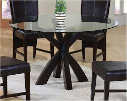 great glass top dining table set 4 chairs cabinets beds sofas and beautiful perspective round glass