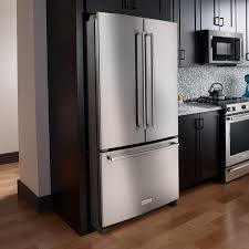 kitchenaid french door refrigerator. sale. kitchenaid french door refrigerator 25 cu. ft. 36-inch in stainless steel krff305ess kitchenaid