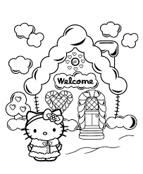 Small Picture Hello Kitty Christmas Coloring Pages use this Hello Kitty