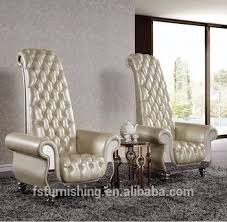 high back living room chairs discount. fancy super high back super king living room decoration leisure chair genuine leather wedding hotel chairs discount c