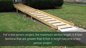 Handicap Ramps Wood Designs How To Build Wheelchair Ramps For Homes Free Mycoffeepot Org