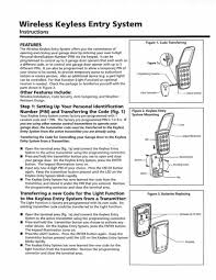 below are the programming instructions for the marantec m3 631 wireless keyless entry