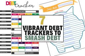 Free Printable Debt Free Charts 7 Debt Trackers To Get You Out Of The Red Free