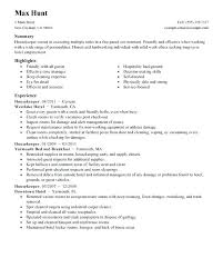 Download Manager Resumes Hospital Housekeeping Manager Resume Superb Download Spacesheep Co