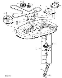 Wiring diagram for lt john deere engine mower deck parts belt c alternator used adjust drive