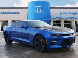 Pre-Owned 2018 Chevrolet Camaro SS RWD 2D Coupe